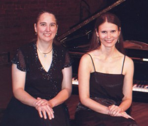 Joan Dixon and Alice Fiedlerová